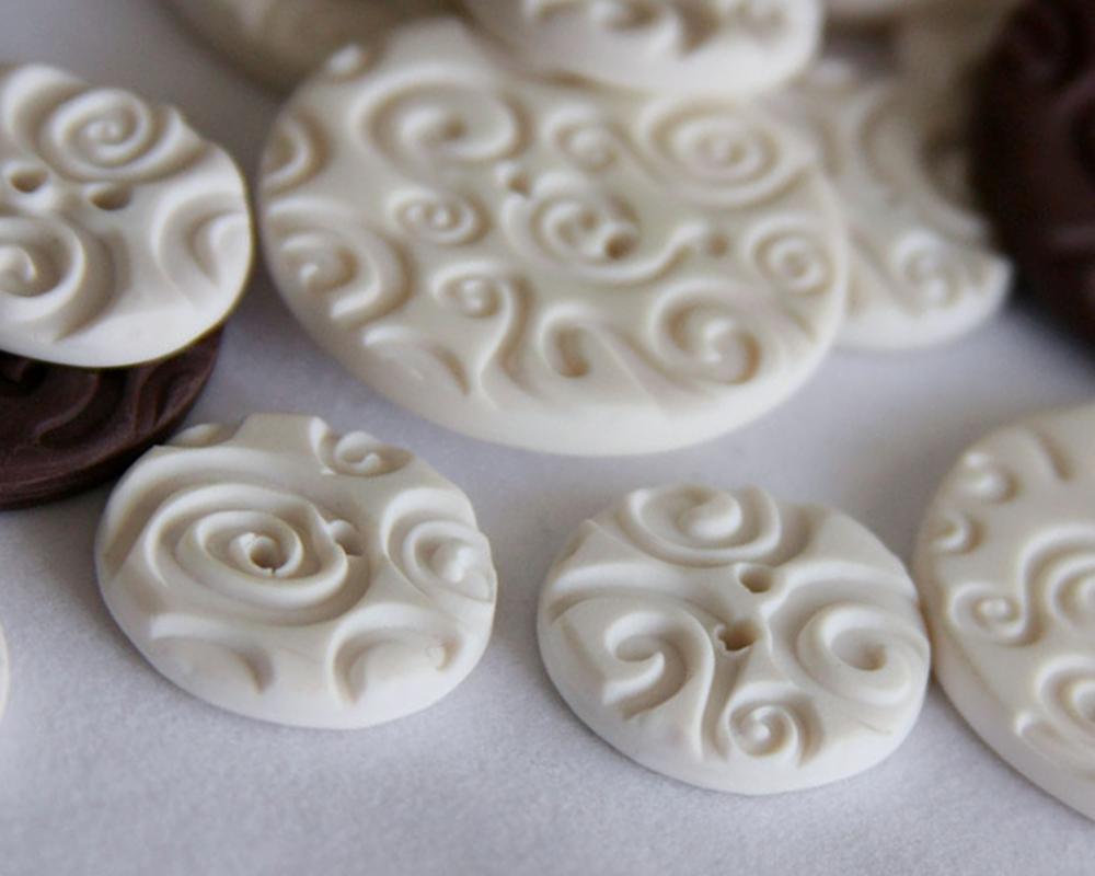 Как сделать пуговицы своими руками из полимерной глины фото 3