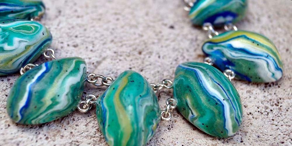 Камни из полимерной глины фото 3