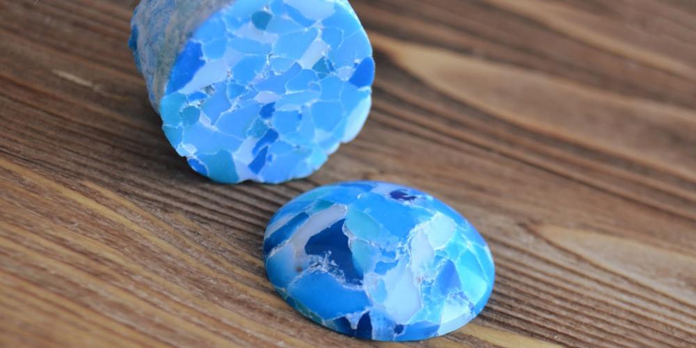 Камни из полимерной глины фото 4