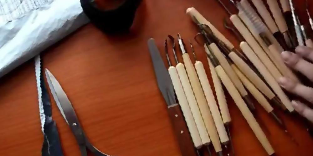 Инструменты для работы с фоамираном фото 1