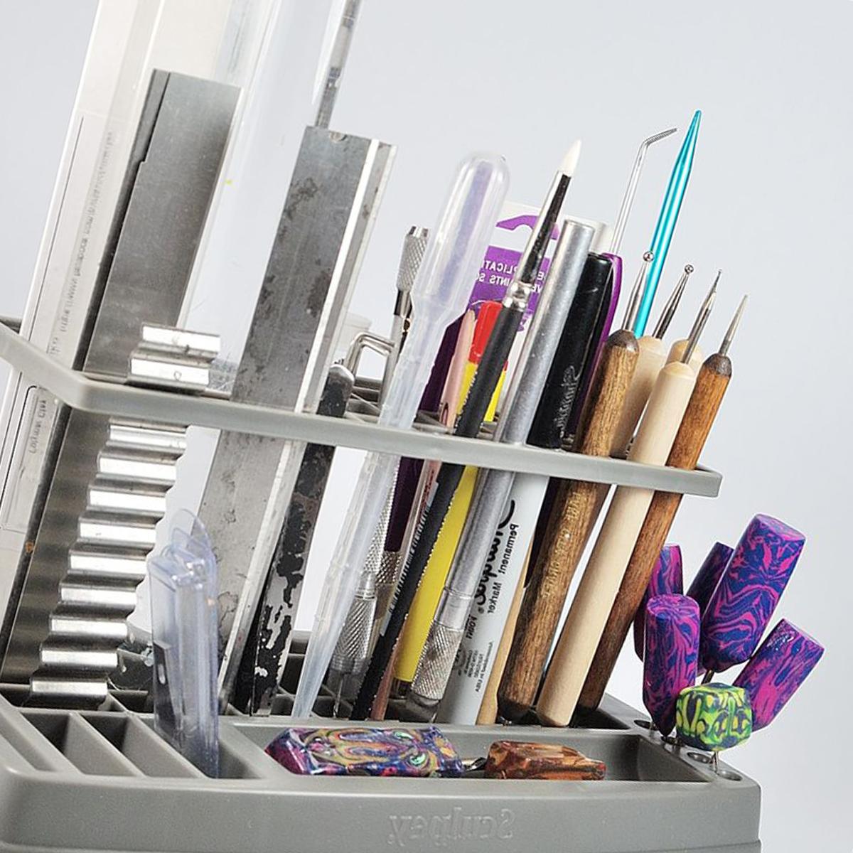 Инструменты для работы с полимерной глиной фото 1