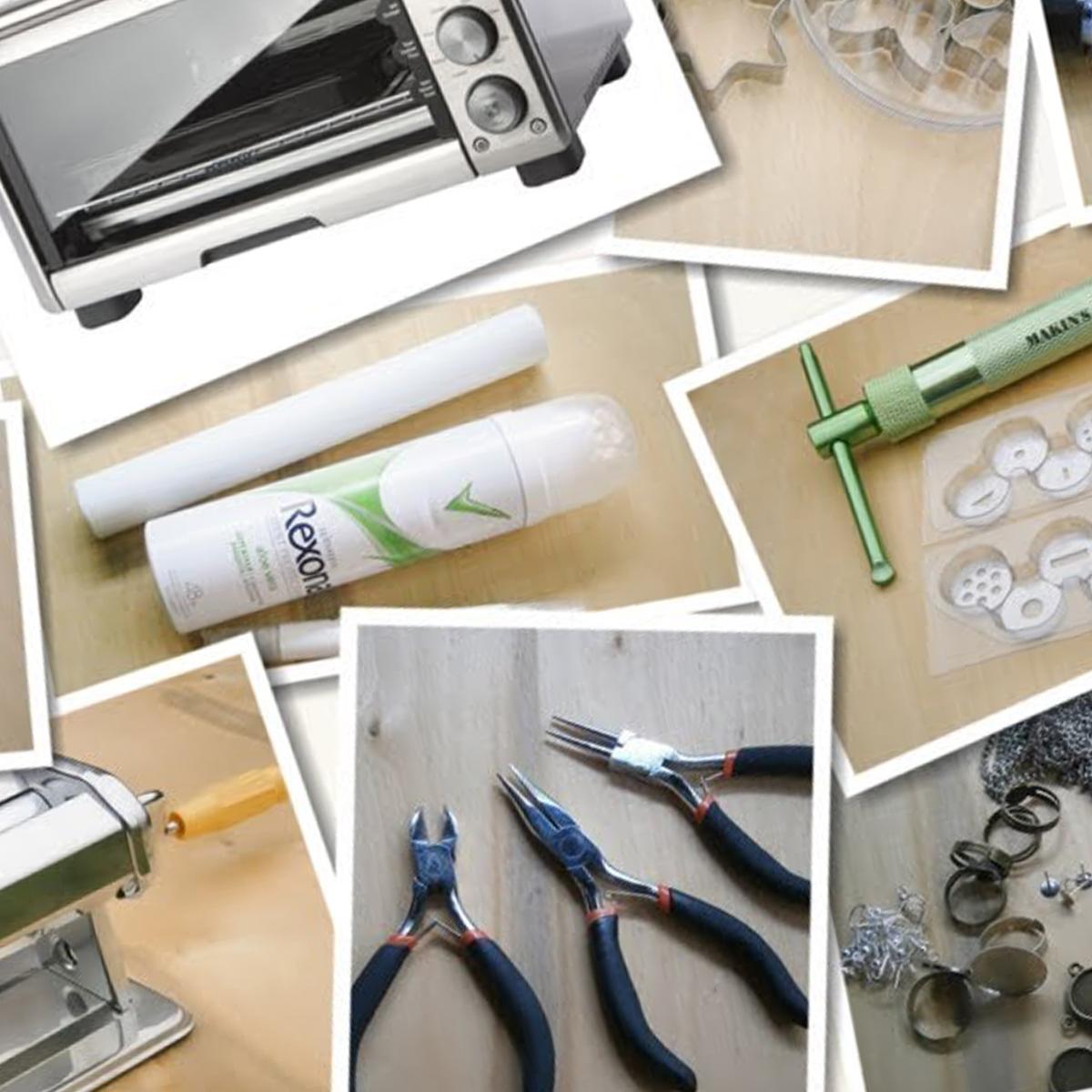 Инструменты для работы с полимерной глиной фото 4