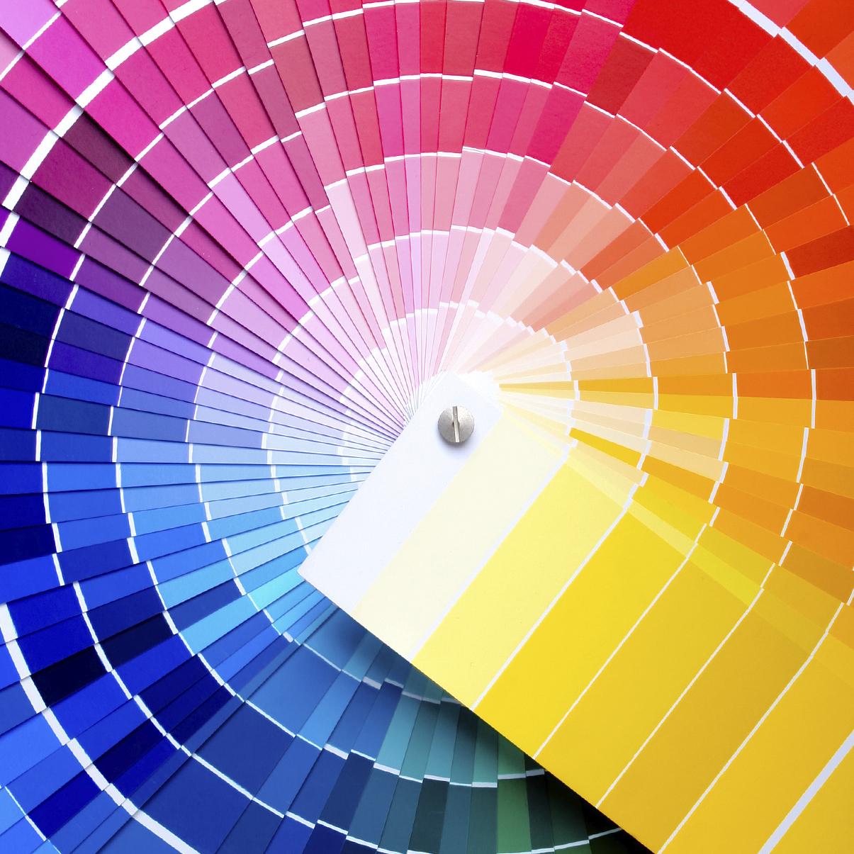 Использование цветовых композиций фото 3