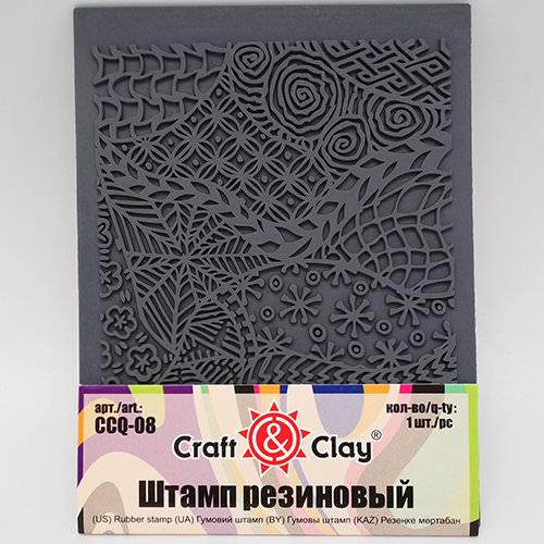 """Текстурный лист Craft&Clay """"Фон. Узоры абстракция"""""""