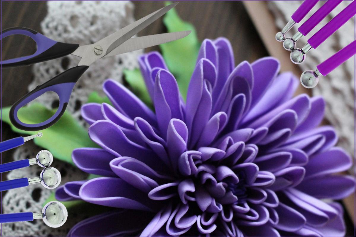 Своими руками гладкий цветок фото 509