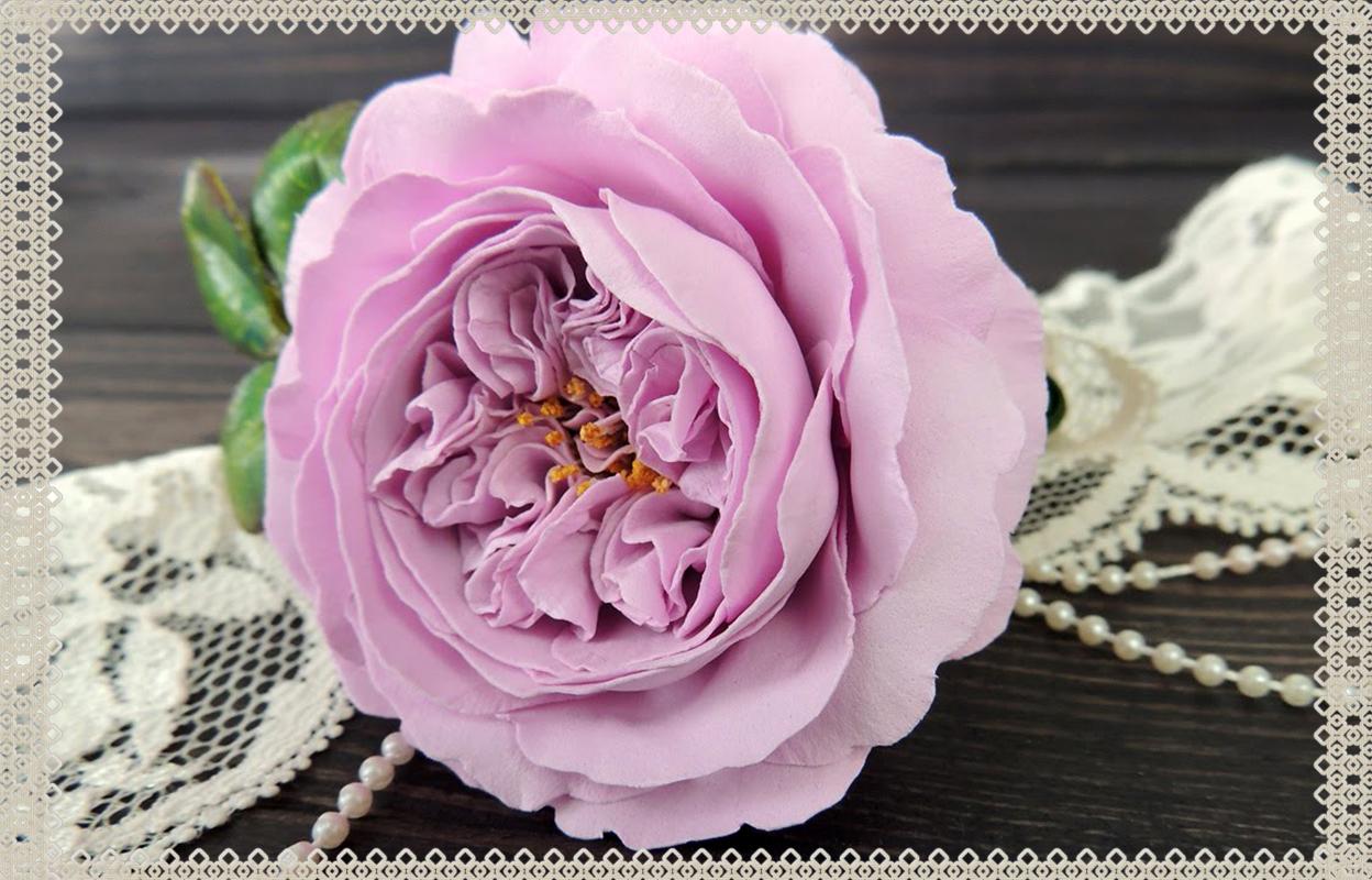 Цветы из фоамирана своими руками – с чего начинать