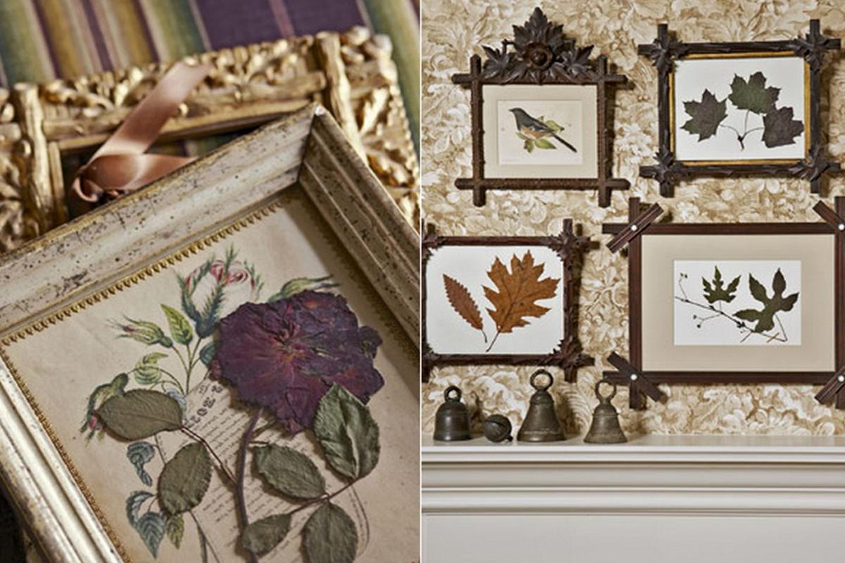 Картины из сухоцветов своими руками
